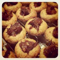 中東風タヒニとデーツのクッキー