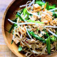 パッタイ(タイ風やきそば)<br>Pad Thai Noodles
