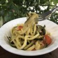 さっぱりズッキーニヌードル <br> Zucchini Noodles