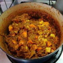 ベジタブルカレーAlishan Cafe Vegetable Curry
