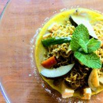グリーンカレーヌードル<br>Green Curry Noodle Soup