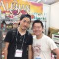 芦田選手がOLEイベントに遊びに来てくれました。