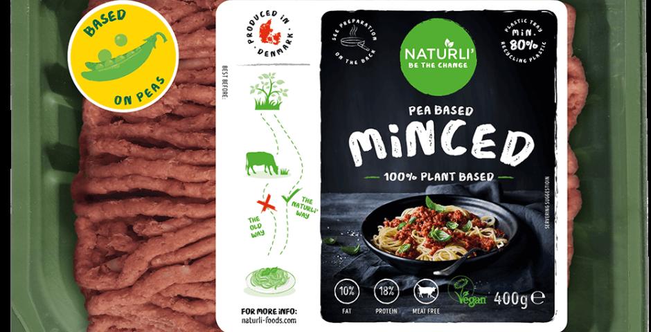 ナチューリプラントベースミート<br>Naturli Plant Based Meat