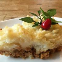 オムニポークのシェパードパイ<br>Omni Shepherd's Pie