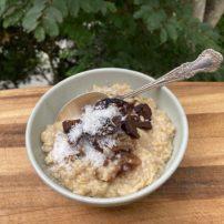 ジャックの特製オートミール<br>Jack's Oatmeal Recipe